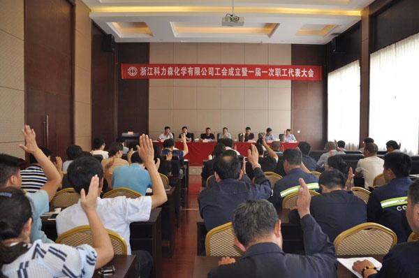 工会一届一次职工代表会议