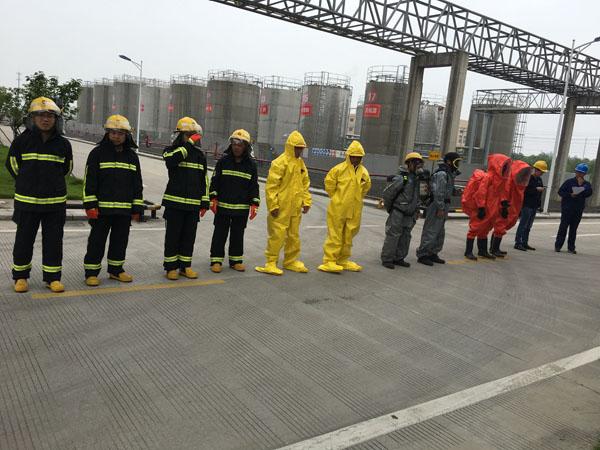 企业消防应急演练